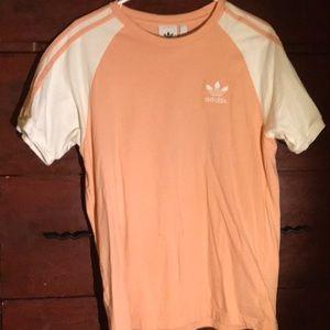 ADIDAS Men's Medium Soccer Shirt Peach